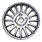 nissan 2008 hubcaps - TuningPros WSC-611S16 Hubcaps Wheel Skin Cover 16-Inches Silver Set of 4