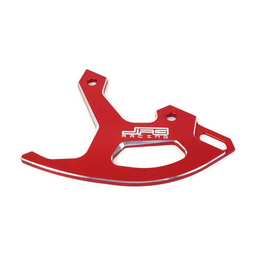 JFG RACING Green Billet Rear Brake Disc Guard Cover Protector For Kawasaki KX250F 04-17 KX450F 06-17 KX125 04-05 KX250 04-07 KLX450R 07-09