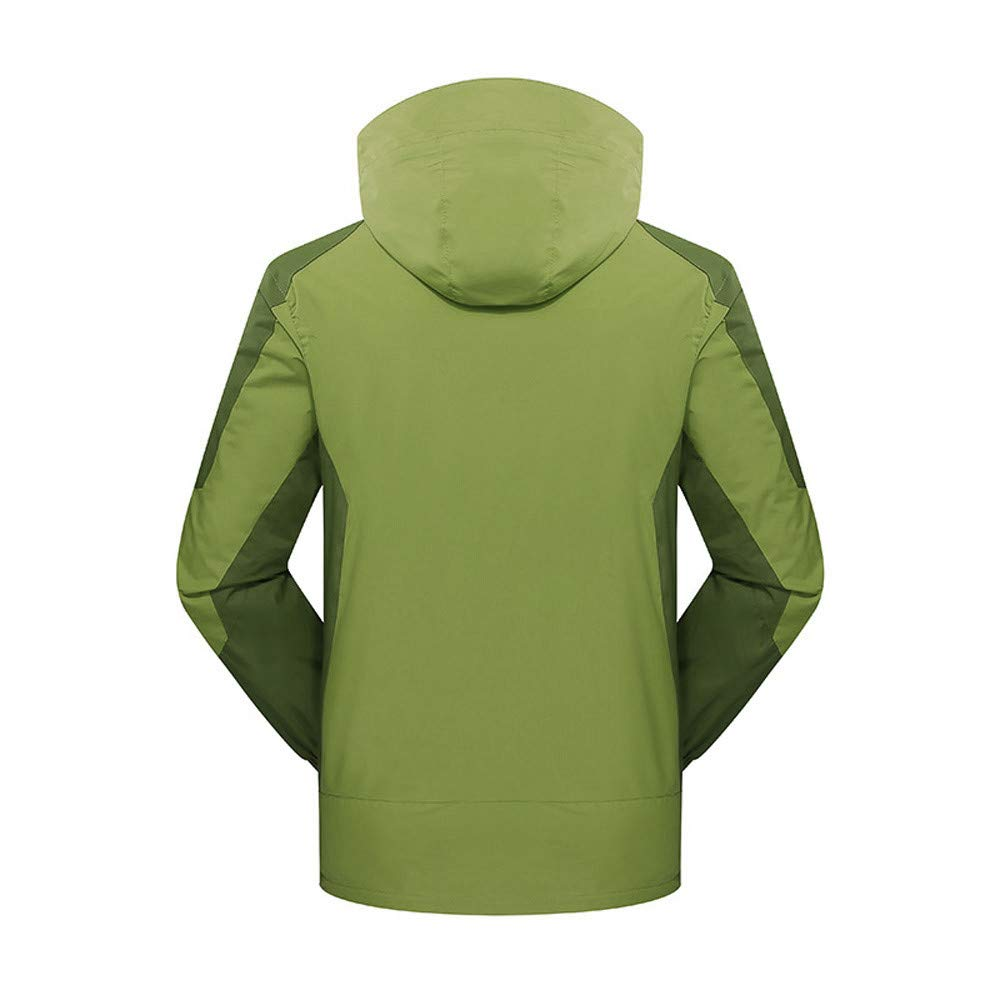 Hoodies for Men Big and Tall.Men's Winter Outdoor Outfit Two Piece Three in One Waterproof Breathable Coat by Pandaie-Mens Product (Image #1)