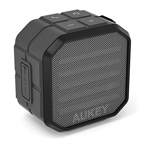 AUKEY Bluetooth Speaker with Enhanced Bass and Built-in Mic, Portable Outdoor Wireless Speaker for iPhone, iPad, Samsung & More