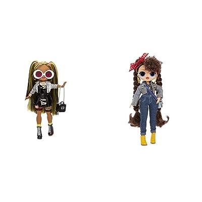 L.O.L. Surprise! O.M.G. Alt Grrrl Fashion Doll with 20 Surprises,Multicolor w O.M.G. Busy B.B. Fashion Doll with 20 Surprises,Multicolor: Toys & Games