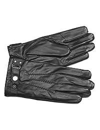 MoDA Men's Mr. Philadelphia Men's Leather Gloves with Touch Function