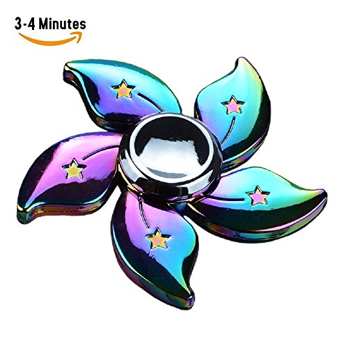 Fidget Spinner Bauhinia Flower Hand Spinning Rainbow Flower Toy High Speed 3 4 Min Spins Edc Focus Stress Reducer Toy Perfect For Girl By Maiyuan