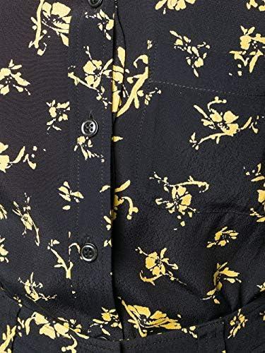 GANNI Luxury Fashion Donna F4164099 Nero Viscosa Camicia | Primavera-Estate 20