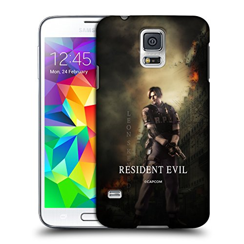 Official Resident Evil Leon S. Kennedy Operation Raccoon City 2 Hard Back Case Compatible for Samsung Galaxy S5 / S5 Neo (Case Galaxy Raccoon S5 Samsung)
