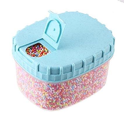 Amazon Com Diyasy 35000pc 3 5mm Colorful Slime Foam Ball Beads For