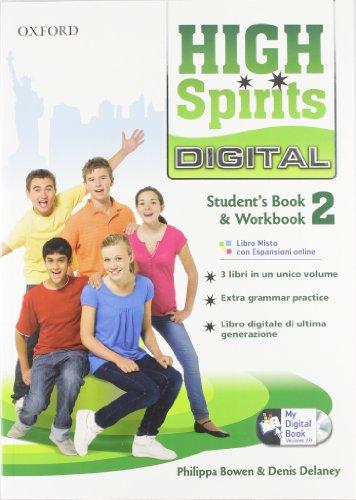 High spirits digital. Student's book-Workbook-Mydigitalbook 2.0. Per la Scuola media.  Con espansione online: High spirits digital. ... la Scuola media.  Con espansione online: 1