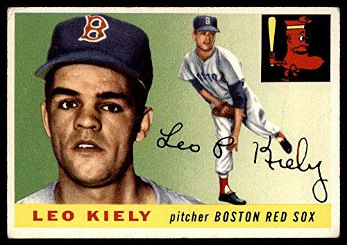 Baseball MLB 1955 Topps #36 Leo Kiely UER mark Red Sox