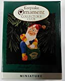 Rudolph's Helper 1996 Miniature Hallmark Ornament QXC4171