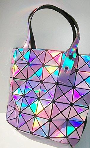Borsa effetto origami Rosa perla, regalo per Lei