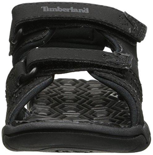 Timberland Adventure Seeker 2 Strap, Mules Unisex Niños Negro (Black 001)