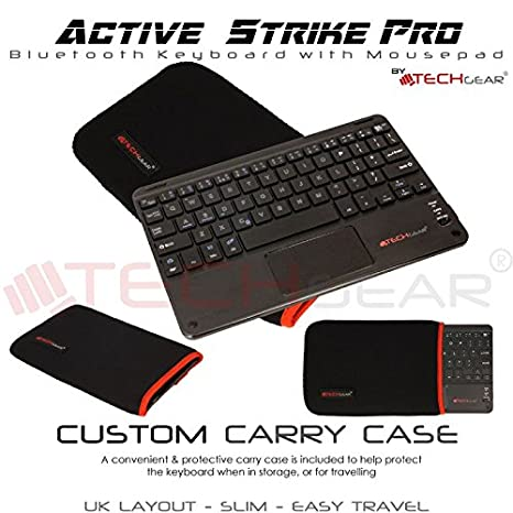 gaixample.org TECHGEAR Included Keyboard Carry case Active Strike ...