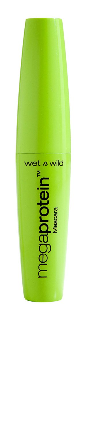 Wet n Wild C137 Megaprotein mascara, 0.27 Fl Oz, Very Black Markwins Beauty Products
