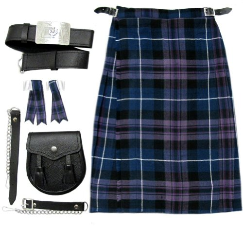 Honour Of Scotland Boys Kilt Kit/Outfit Kilt, Sporran Belt & Flashes 11-12