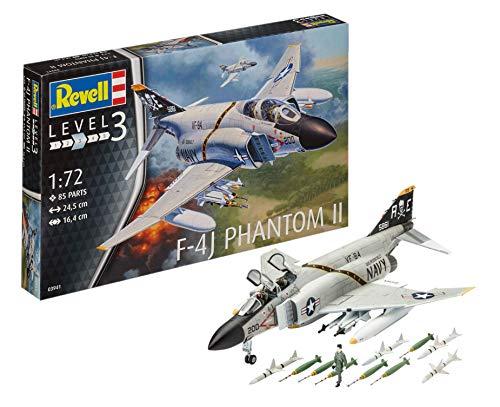 ドイツレベル 1/72 アメリカ海軍 F-4J ファントム US ネイビー プラモデル 03941