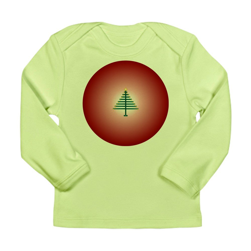 Kiwi 12-18 Truly Teague Long Sleeve Infant T-Shirt Christmas Tree On Red Bulb