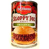 Del Monte Original Sloppy Joe Sauce (Pack of 3) 15 oz Cans