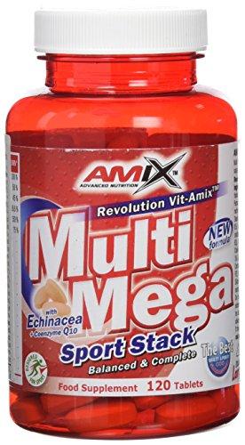 Amix 8594159532779, Multi Mega Stack Vitaminas y Minerales, 68 gr: Amazon.es: Salud y cuidado personal