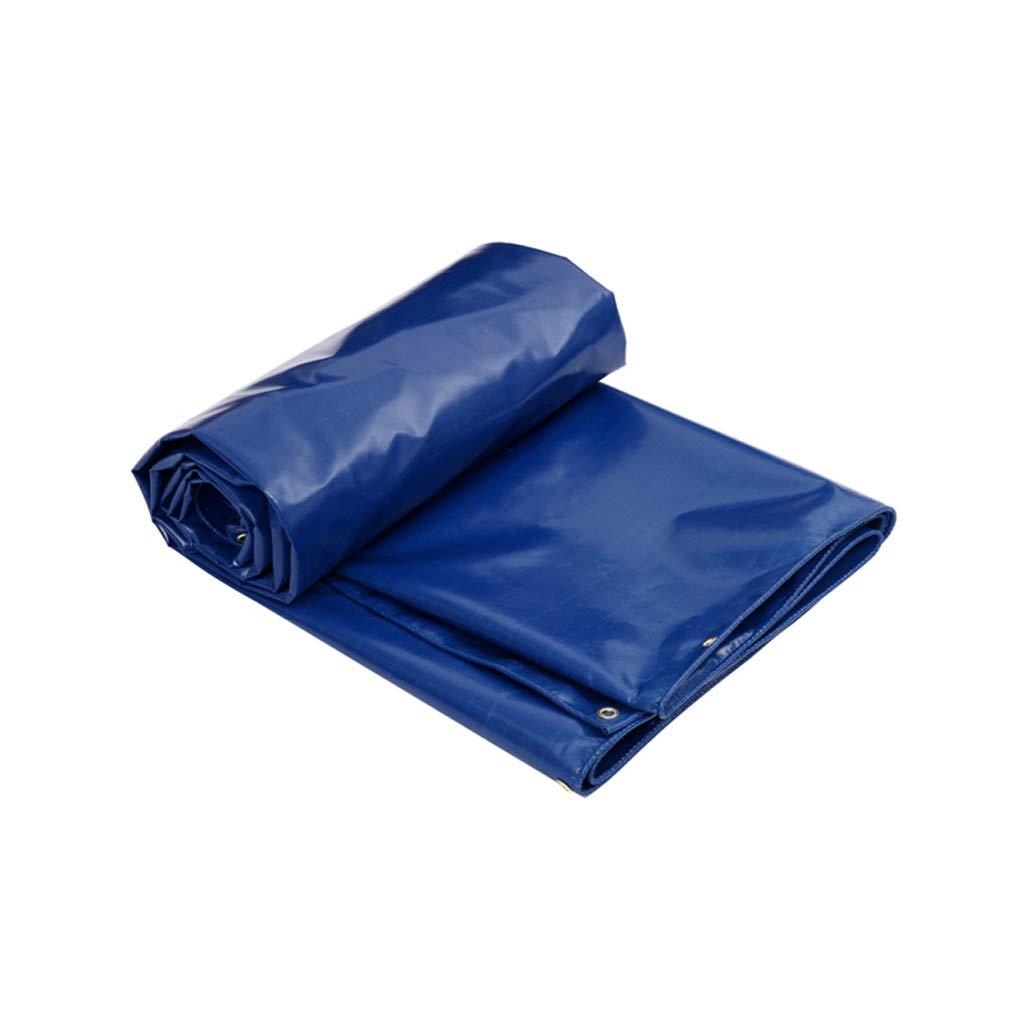 LCSHAN Regenfestes Tuch-im Freienmode-dauerhafter Plastikdick wasserdicht und staubdicht Multifunktions (größe   4  3m) B07K6416SH Zeltplanen Gute Qualität