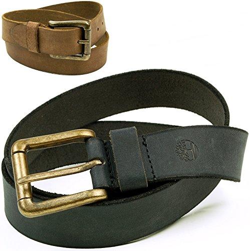 Timberland Mens Genuine Leather Distressed Belt