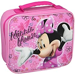 Minnie Mouse MCCOR85ZA Rectangular Lunch Bag, Pink