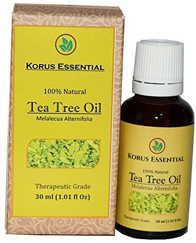 100% Natural Tea Tree Essential Oil - 100% Pure Therapeutic Grade 30 ml / 1.01 oz For Relaxation, Personal Care and Household Use -  Era Overseas, JK-KE-TTO