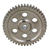 BQLZR 05112 44T Silver Steel Metal 44 Teeth Speed Drive Diff. Main Gear for HSP RC 1:10 Car