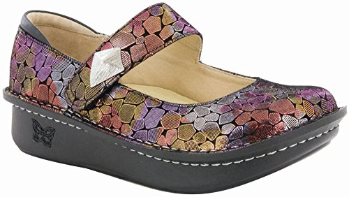 Euro Brick - Alegria Women's Paloma Beauty Brick Mary Jane (PAL-130) Size: Euro 40 \ US 9.5-10, Width: Wide