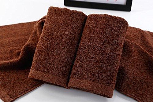 welim toallas toallas de microfibra de toallas de playa toallas de baño toallas de viaje para belleza y peluquería o casa sobre 34* 76cm marrón