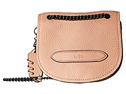 Coach Small Shadow Crossbody in Adobe Pebble Leather