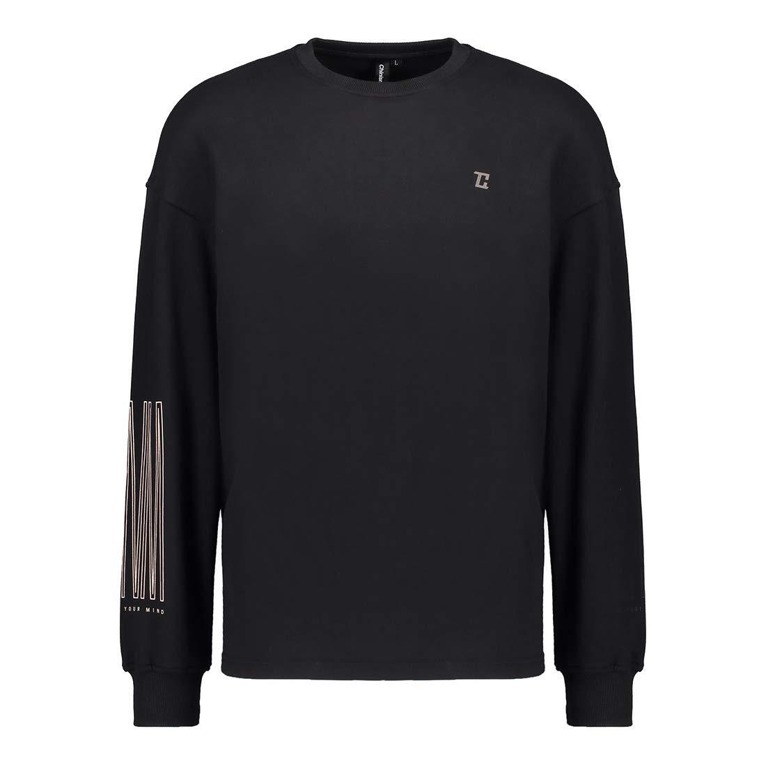 Men's Big&Tall Crewneck Fleece Pullover Sweatshirt - Relaxed Fit Long Sleeve Athletic Sweater Sports- Unisex Chin