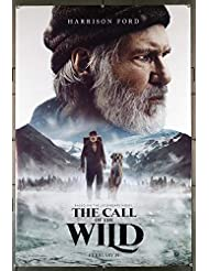 The Call Of The Wild (2020) Original U.S. One-Sheet Movie Poster 27x40 Rolled Very Fine HARRISON FORD BRADLEY WHITFORD Film directed by CHRIS SANDERS