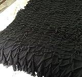 Chiffon Layered Decorative Full Bedspread