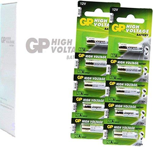 100 GP 27A GP27A MN27 A27 27A High Voltage Super Alkaline 12V Batteries