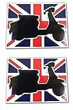 Stickerzzz!!! VL1 Vespa Lambretta Target Mod Gb Sticker -2 Decals