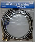 Stainless Steel Washing Machine Fill Hoses 2-4'