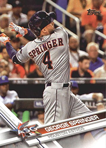 2017 Update Series #US9 George Springer Houston Astros Baseball All Star Card