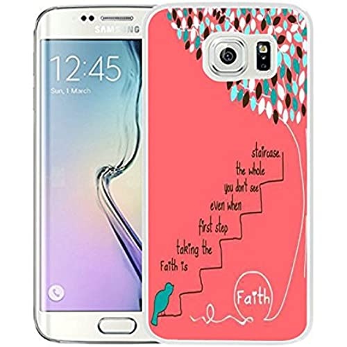 Galaxy S7 Case Samsung Galaxy S7 Case TPU Non-Slip High Definition Printing Bible Verses Faith Is Taking The First Sales