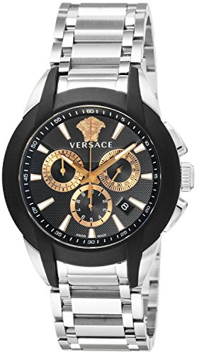 VERSACE-watch-character-Chrono-Black-Dial-Chronograph-Date-M8C99D007S099-Mens-parallel-import-goods