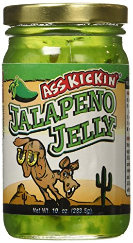 Ass Kickin - Jalapeno Jelly - 10oz., Delicious Jelly - Jalapeno Jelly