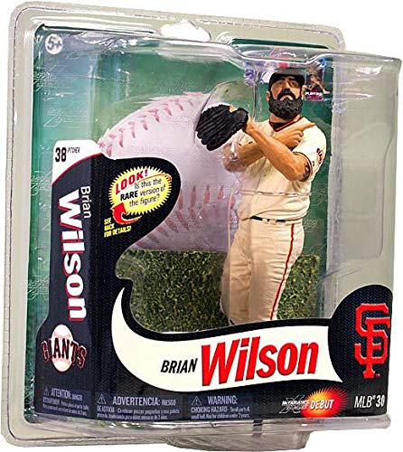 (MLB San Francisco Giants McFarlane 2012 Series 30 Brian Wilson (1) Action Figure)