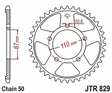 JT Sprockets JTR829.47 47T Steel Rear Sprocket
