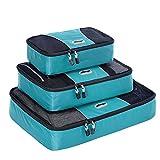 eBags Packing Cubes - 3pc Set (Aquamarine)