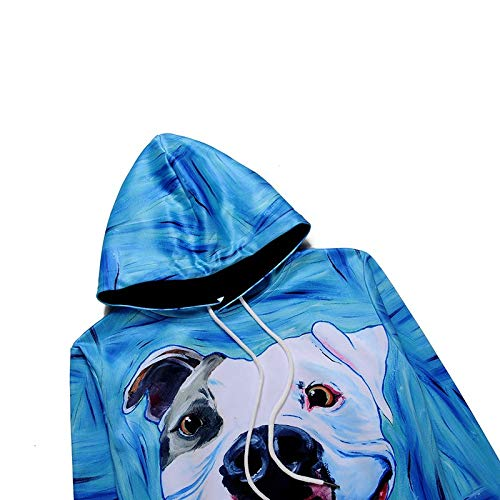 Amazon.com : Mjia Hoodie Unisex Sweatshirt, Shar Pei Dog, 3D Turtleneck Sweater : Sports & Outdoors
