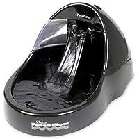 Petmate 24870 Fresh Flow Pet Fountain, Large (Black)