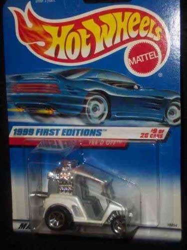 1999 First Editions #9 TeeD Off Red #683 Mint Hot Wheels