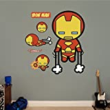 FATHEAD Kawaii Iron Man Real Big Wall Decal