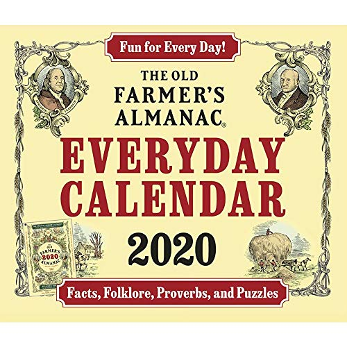 2020 Old Farmers Almanac Desk Calendar, by ACCO Brands