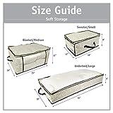 DII Breathable Closet Soft Storage Bag, Blanket
