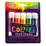 Office Products : Elmer's 0.21-Ounces Washable Non-Toxic Colored Glue Sticks, 5 Vibrant Colored (E129)